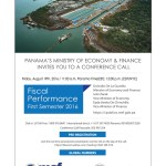 Panama's Ministry of Economy & Finance Invites You to a Conference Call